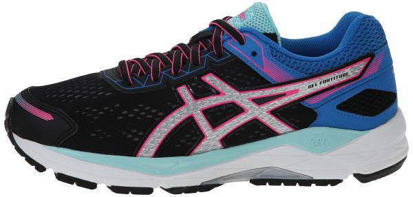 Asics Gel Fortitude 7 woman black/silver/electric blue