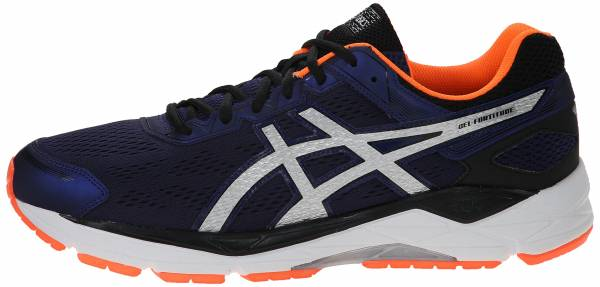 Asics Gel Fortitude 7 men indigo blue / silver / orange