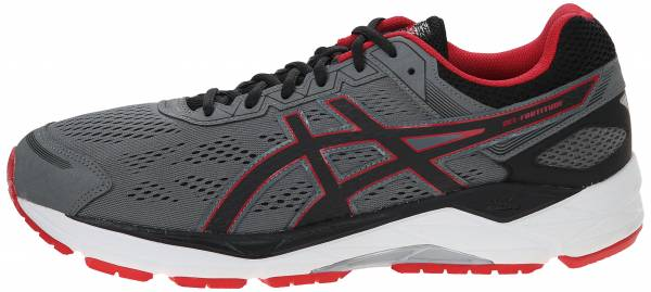NEW ASICS GEL FORTITUDE 7 Running Shoes Mens 9 Black T5G2N