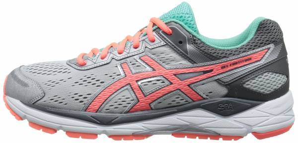 Asics Gel Fortitude 7 woman silver/fiery coral/aqua mint