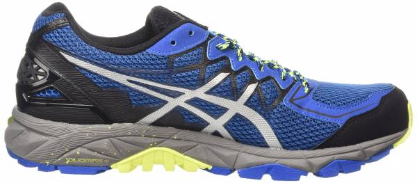 Asics Gel FujiTrabuco 4 men bleu (snorkel blue/silver/flash yellow 4293)
