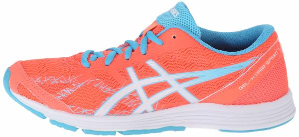 Asics Gel Hyper Speed 7 woman flash coral/white/turquoise