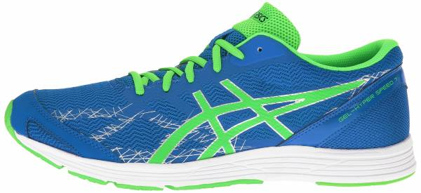 Asics Gel Hyper Speed 7 men electric blue/green gecko/indigo blue