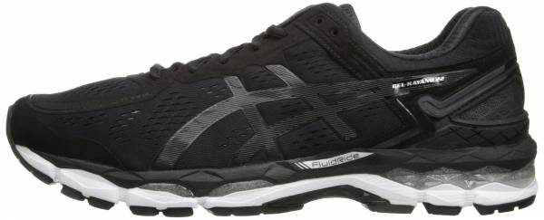 Asics Gel Kayano 22 men black/onyx/silver