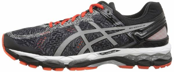 Asics Gel Kayano 22 men carbon/silver/cherry tomato