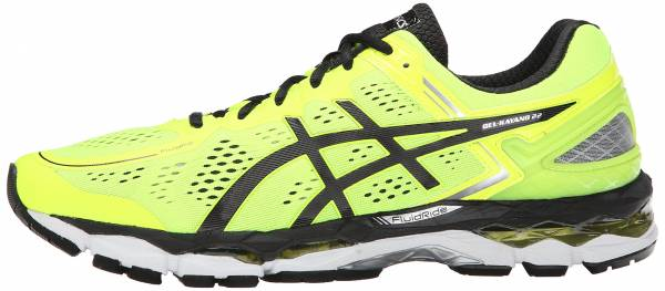 Asics Gel Kayano 22 men flash yellow/black/silver