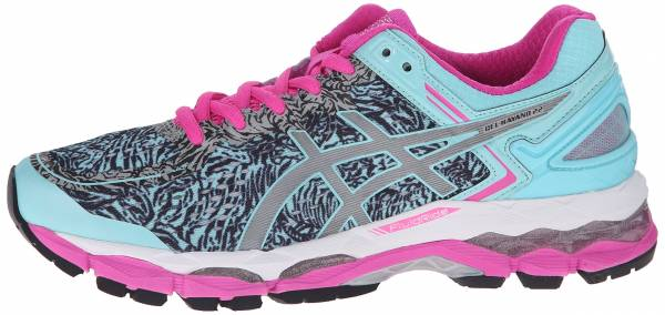 Asics Gel Kayano 22 woman aqua splash/silver/pink glow