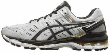 Asics Gel Kayano 22 - Silver/Black/Gold (T547N9390)