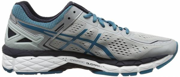 Asics Gel Kayano 22 men gris (silver grey/ocean depths/sky captain 9661)
