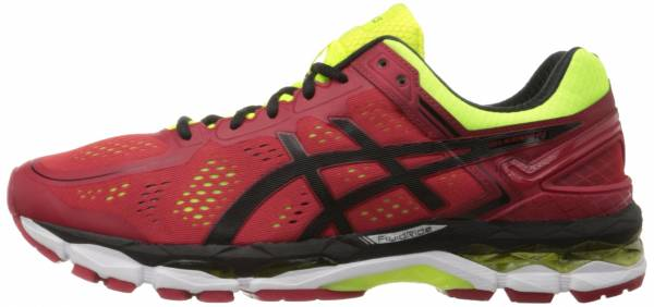 Asics Gel Kayano 22 men red (red pepper/black/flash yellow 2490)