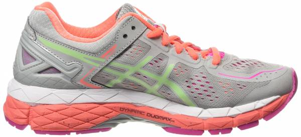 Asics Gel Kayano 22 woman gris (silver grey/pistachio/fiery co 1087)