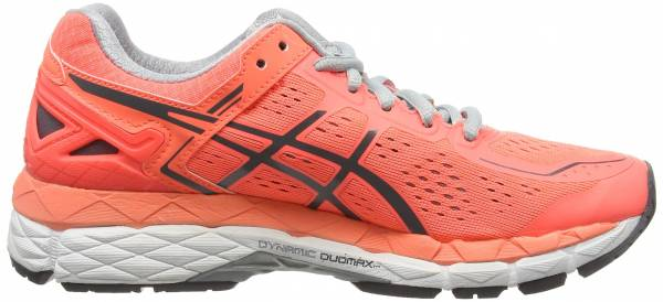 Asics Gel Kayano 22 woman pink (flash coral/carbon/silver grey 0697)
