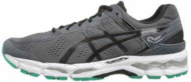 Asics Gel Kayano 22 Carbon/Black/Silver Men