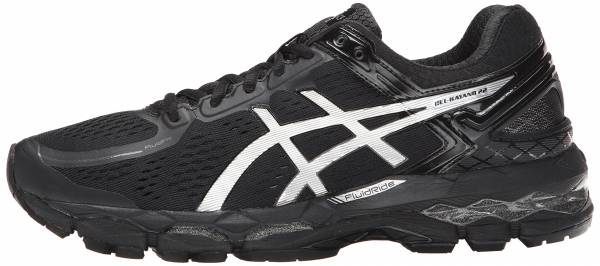 Asics Gel Kayano 22 men onyx/silver/charcoal