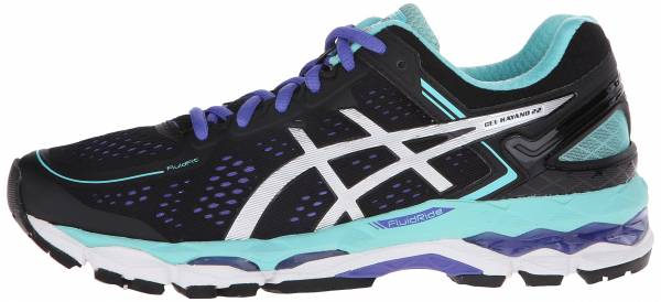 Asics Gel Kayano 22 woman noir (black/onyx/pool blue 9099)