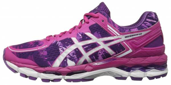 Asics Gel Kayano 22 woman purple/silver/pink glow