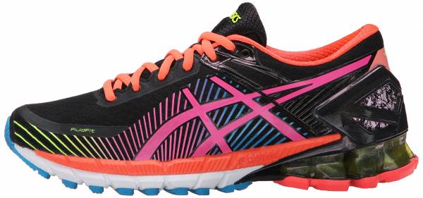 Asics Gel Kinsei 6 woman black/hot pink/flash yellow