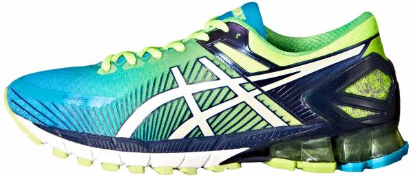 Asics Gel Kinsei 6 men flash yellow/white/blue