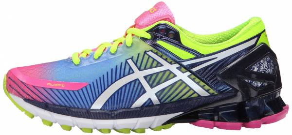 Asics Gel Kinsei 6 woman hot pink/white/flash yellow