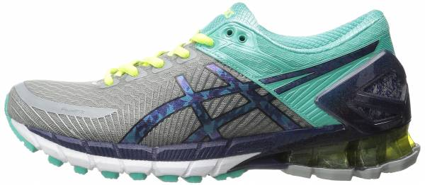 Asics Gel Kinsei 6 woman light grey/titanium/mint