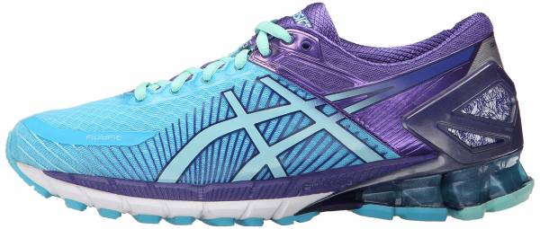 Asics Gel Kinsei 6 woman turquoise/aqua mint/purple