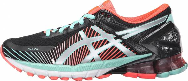 Asics Gel Kinsei 6 woman black/silver/flash coral