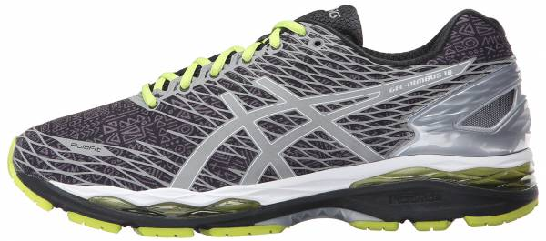 the latest 6ace5 062ec Asics Gel Nimbus 18 Silver