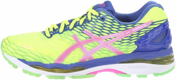 difference between asics gel nimbus 13 and 14 amendments