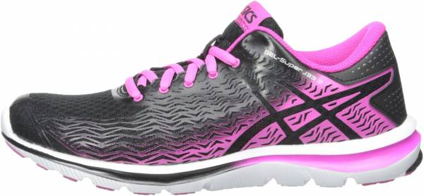 Asics Gel Super J33 2 woman black/ pink glow/ silver