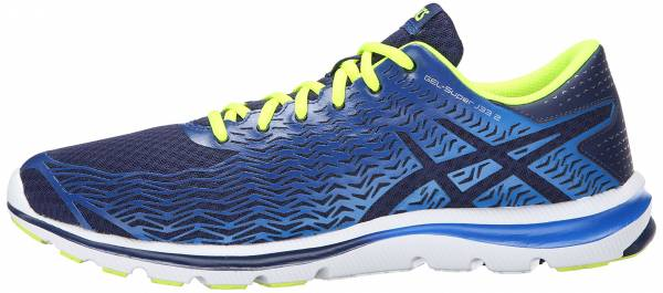 Asics Gel Super J33 2 men indigo blue/electric blue/flash yellow