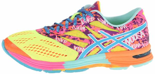 Asics Gel Noosa Tri 10 woman flash yellow/turquoise/flash pink