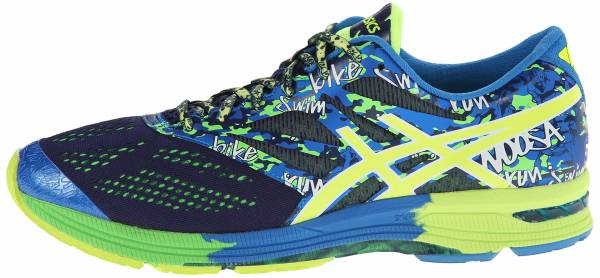 Asics Gel Noosa Tri 10 men bleu (navy/lightning/neon orange 5093)