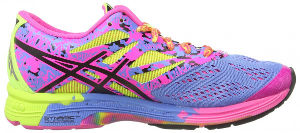 Asics Gel Noosa Tri 10 woman powder blue/black/hot pink