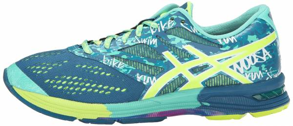 Asics Gel Noosa Tri 10 woman mosaic blue/flash yellow/pink glow