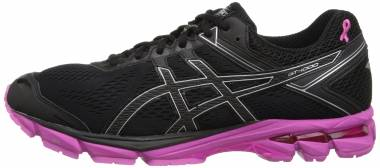 Asics GT 1000 4 Black/Silver/Pink Ribbon Men
