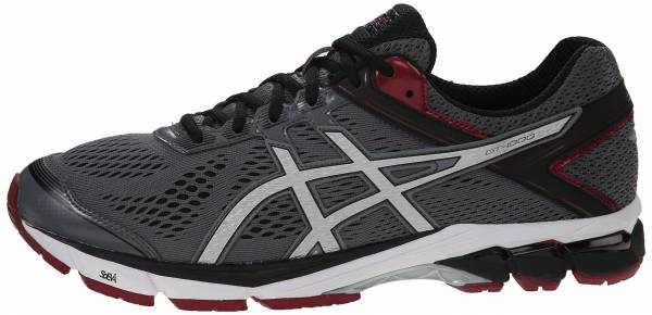 Asics GT 1000 4 - Carbon/Silver/Maroon