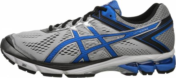 Asics GT 1000 4 Silver/Electric Blue/Black