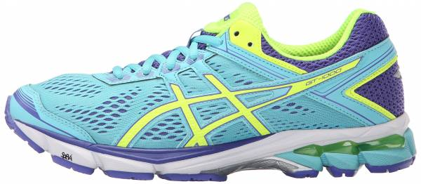 Asics GT 1000 4 woman turquoise/flash yellow/acai