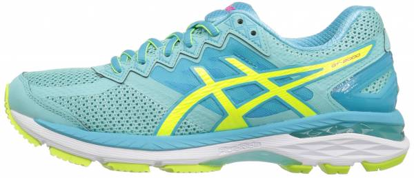 Asics GT 2000 4 woman multicolor (aruba blue/safety yellow/aquarium)