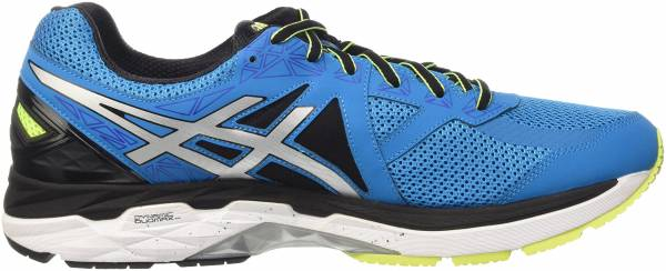 Asics GT 2000 4 men blue (blue jewel/black/safety yellow)