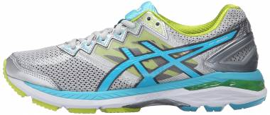Asics GT 2000 4 - Silver Turquoise Lime Punch (T657N9342)