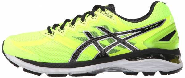 Asics GT 2000 4 men safety yellow/onyx/carbon