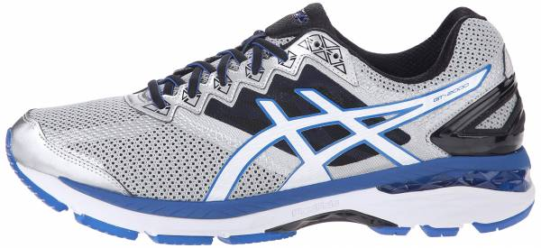 Asics GT 2000 4 men silver/white/royal