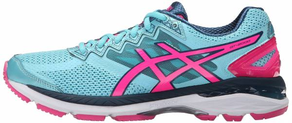 Asics GT 2000 4 woman turquoise/hot pink/navy