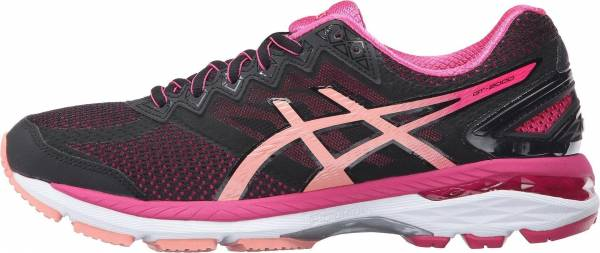 Asics GT 2000 4 woman multicolor (black/peach melba/sport pink)