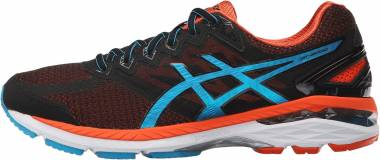 Asics GT 2000 4 - Nero Black Blue Jewel Flame Orange (T606N9043)