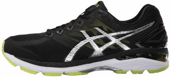 Asics GT 2000 4 men black/silver/lime
