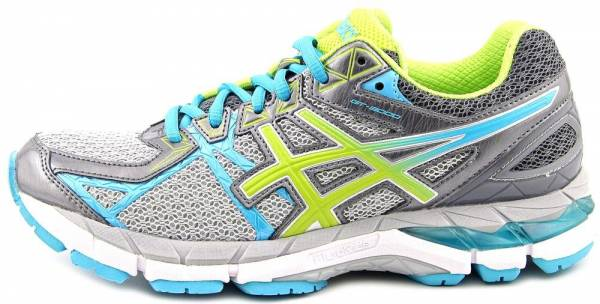 Asics GT 3000 3 men charcoal/lime/turquoise