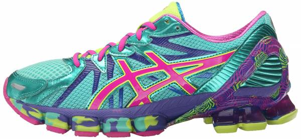 Asics Gel Sendai 3 woman aqua mint/pink glow/electric blue