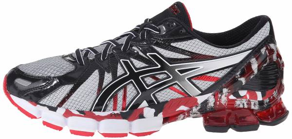 Asics Gel Sendai 3 men black/onyx/red